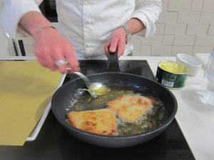 friggere la cotoletta