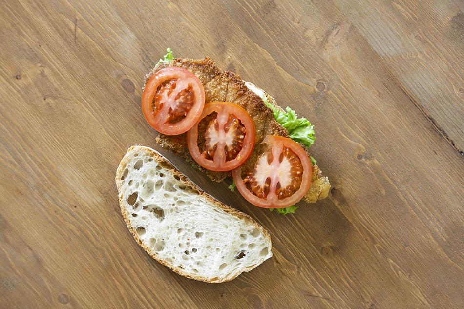 panino con la cotoletta