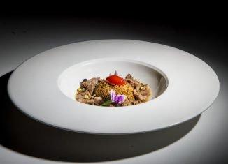 Cous Cous tostato al pesto mediterraneo, una ricetta di Marcello Valentino