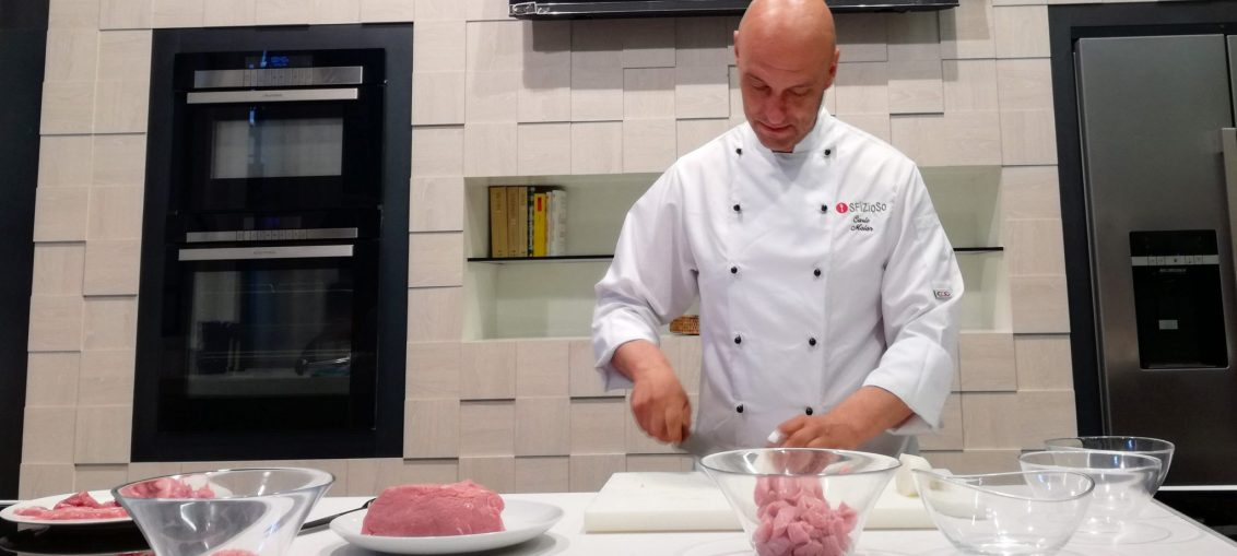 come fare una tartare di carne di vitello