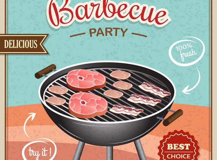 bbq party hoot carne di vitello alla griglia carn