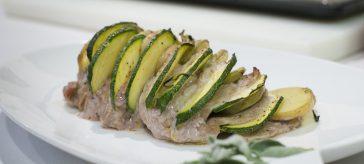 arrosto di vitello con patate e zucchine di carlo molon