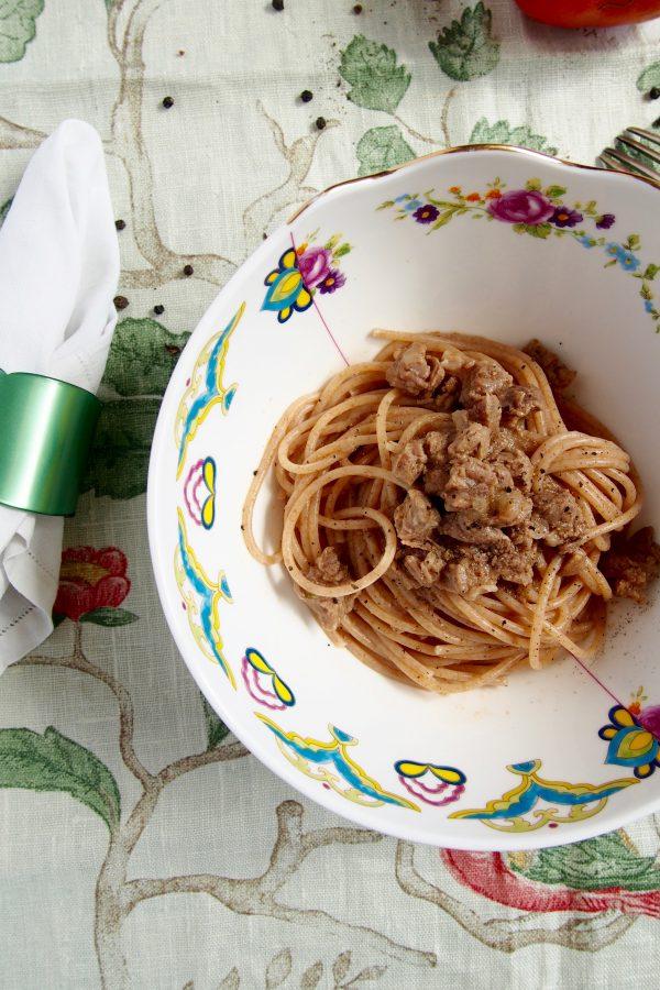 pasta alla genovese ricetta di sandra salerno
