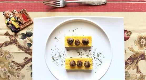 crostini di polenta sandra salerno