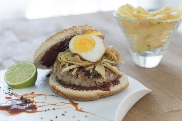 hamburger giapponese charlie pearce