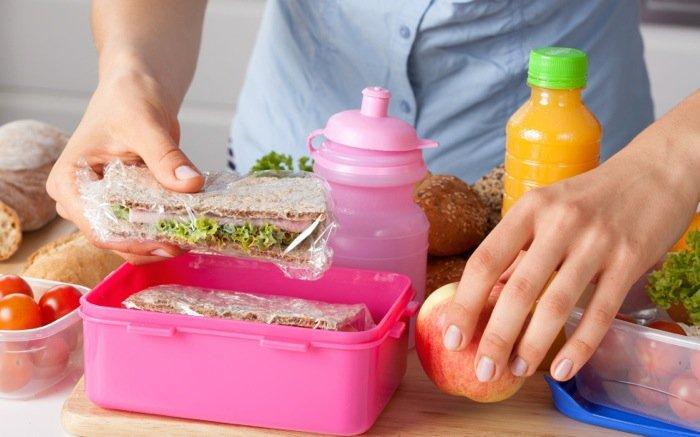 pranzo al sacco per bambini back to school