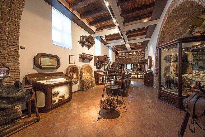Dentro il museo della liquirizia Giorgio Amarelli a Rossano calabro