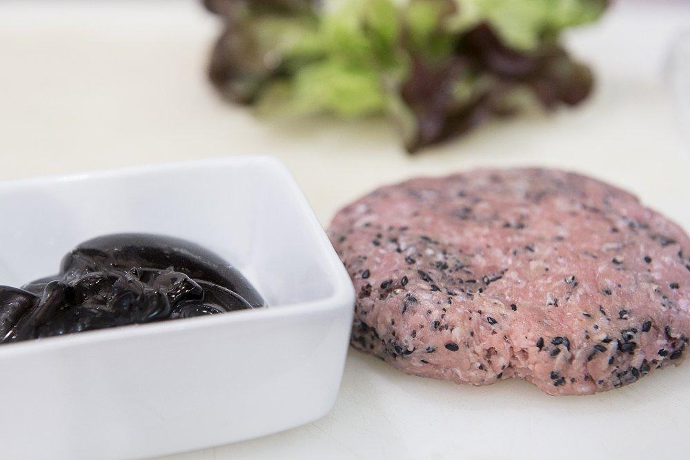 hamburger nero charlie pearce carne macinata di vitello