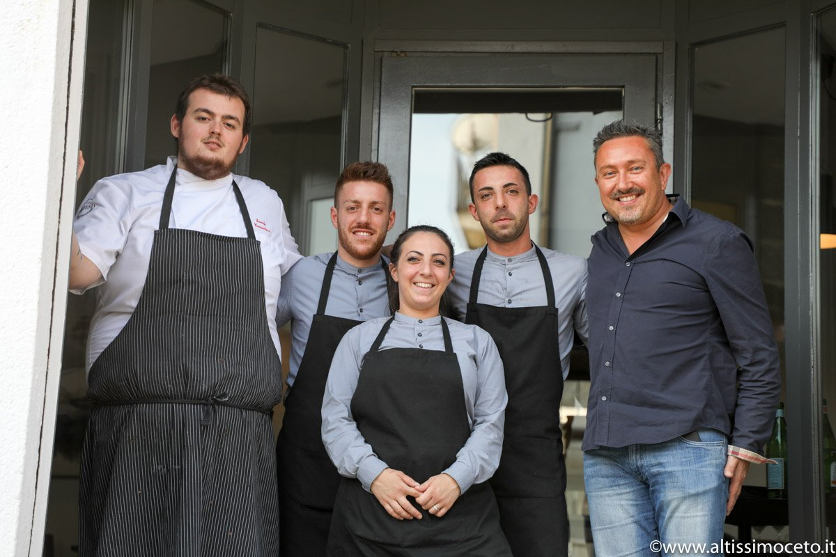 team davide caranchini ristorante materia