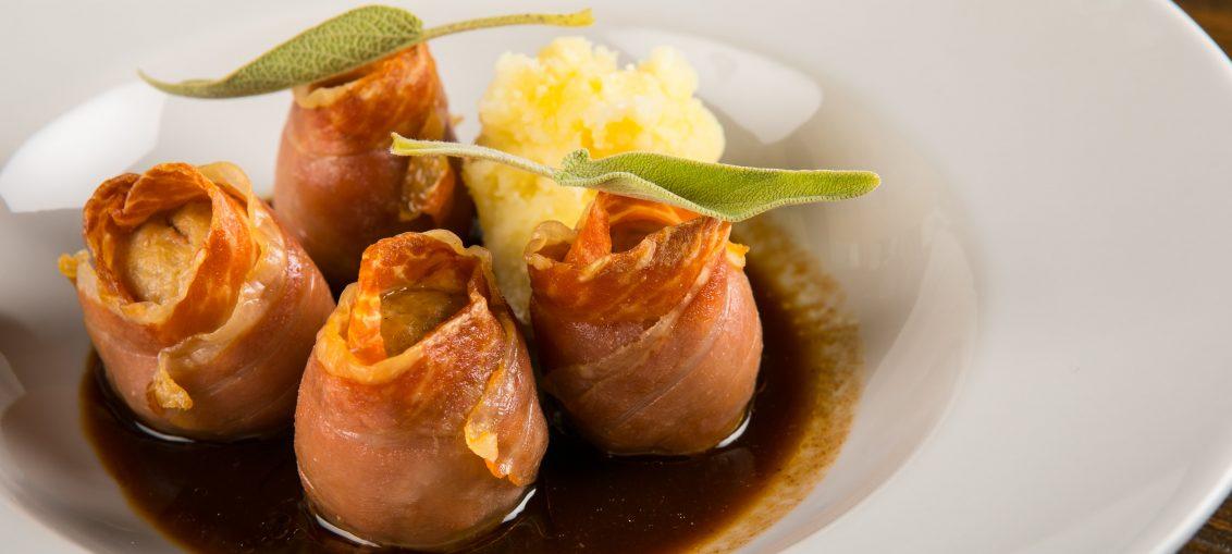 Saltimbocca di polpette e patate schiacciate al limone Tommaso Pennestri