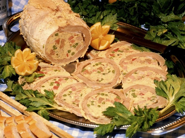 Cima alla genovese ricetta e riti della tradizione - La cucina di martina ...