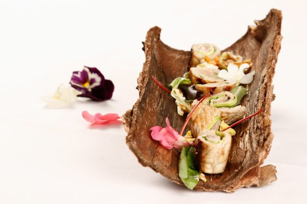 Involtini di vitello e zucchine con strapazzato d'uovo di chef Nicola Batavia