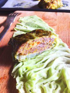 capunet involtini verza e carne di vitello