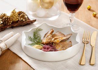 L'arrosto di reale di vitello con cipolla caramellata e senape dolce, la ricetta di Natale di Massimo Spallino