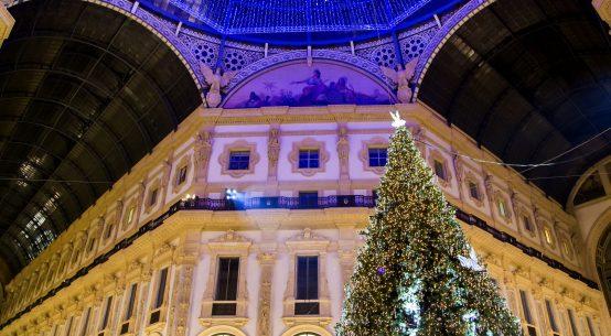 Natale a Milano Albero Galleria