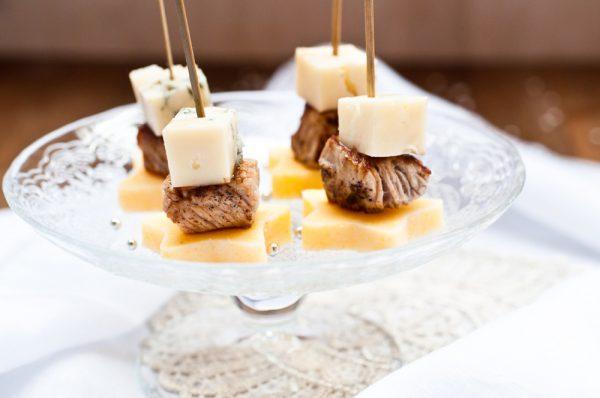 Stelline di polenta con fesa magra e gorgonzola ricetta teresa balzano