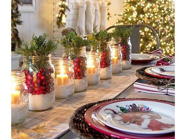 centrotavola natalizio come apparecchiare la tavola a natale
