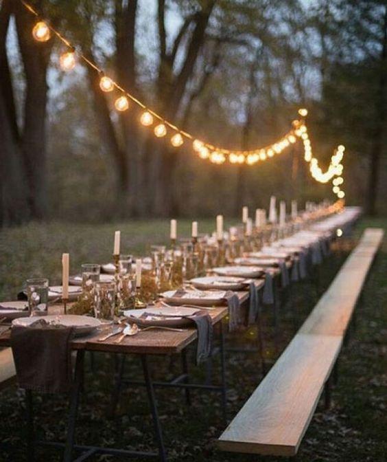cena romantica tra amici