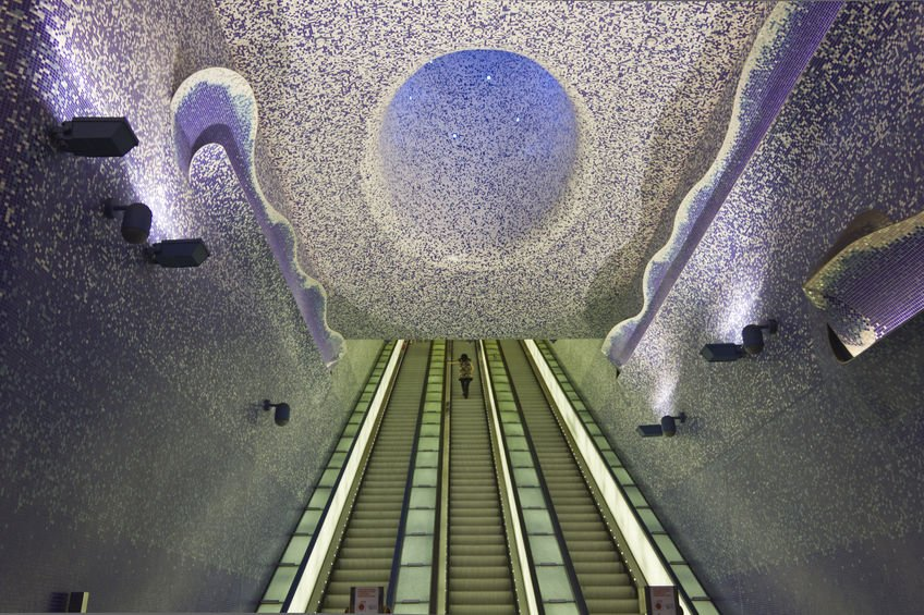 cosa vedere a Napoli metro Toledo