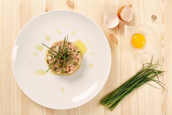 tartare classica al coltello la ricetta di sandra salerno