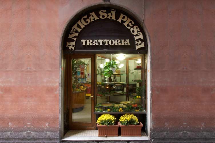 Antica Trattoria Sa Pesta dove mangiare Genova