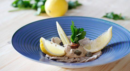 Vitello Tonnato tradizionale ricetta Carlo Molon