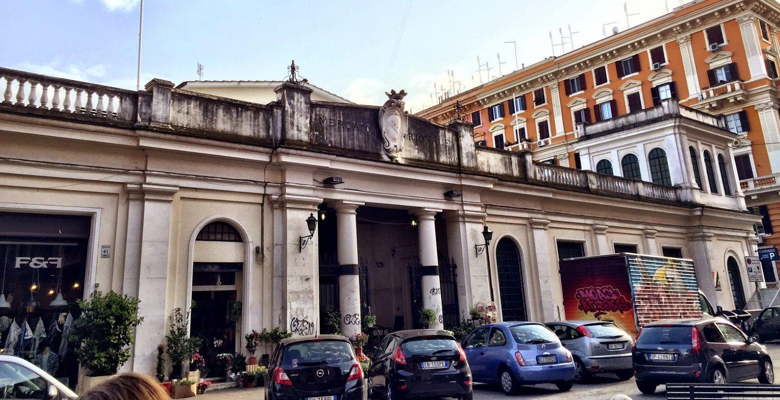 mercato di via Cola di Rienzo dove mangiare a roma
