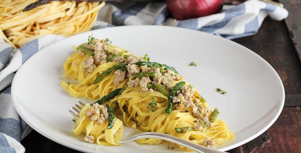 ragu vitello asparagi