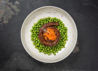 La salsiccia arrotolata con verdure, di chef Nicola Batavia