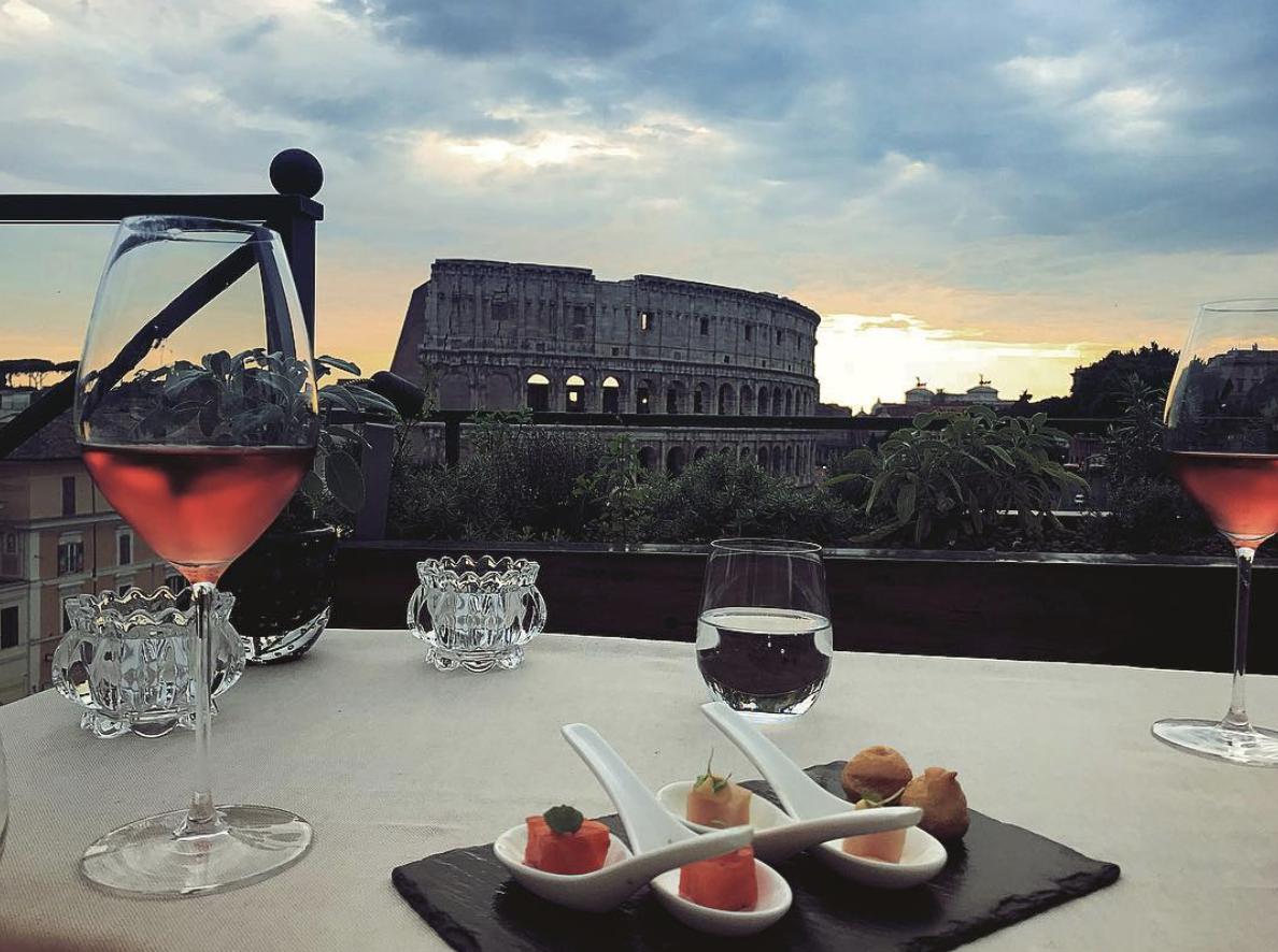 5 Ristoranti Dove Mangiare All Aperto A Roma Sfizioso It