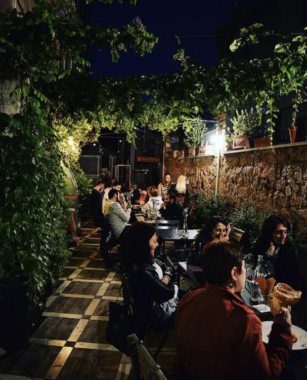 dove mangiare all'aperto a Roma
