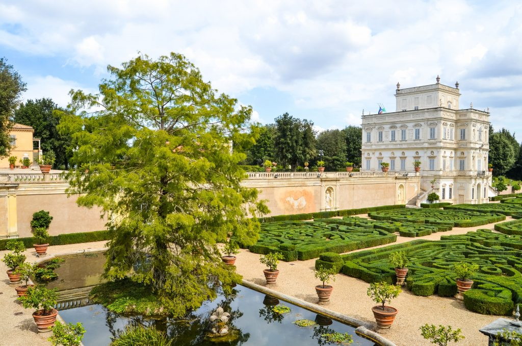 villa pamphili a roma dove fare picnic