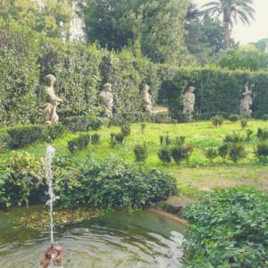 villa sciarra picnic a roma