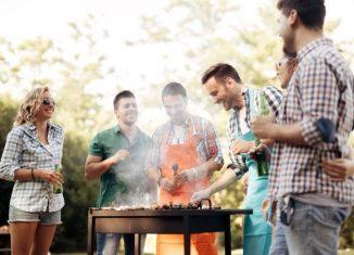 barbecue tra amici