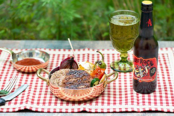 ricetta hamburger di vitello bbq