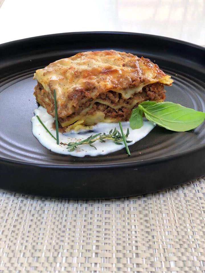 Lasagnetta con ragù di vitello di Cesare Battisti