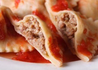 ricetta dei ravioli di carne
