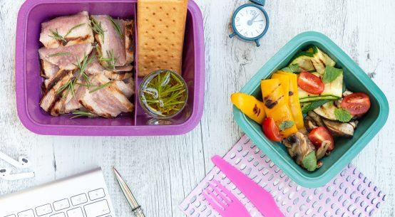 Tagliata di vitello lunch box