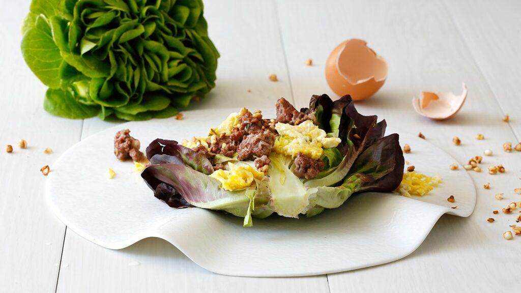 millefoglie di insalata
