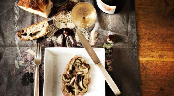 scaloppine di vitello ai funghi porcini
