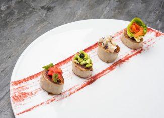 Arbella di vitello con piselli funghi cavolino chef Nicola Batavia
