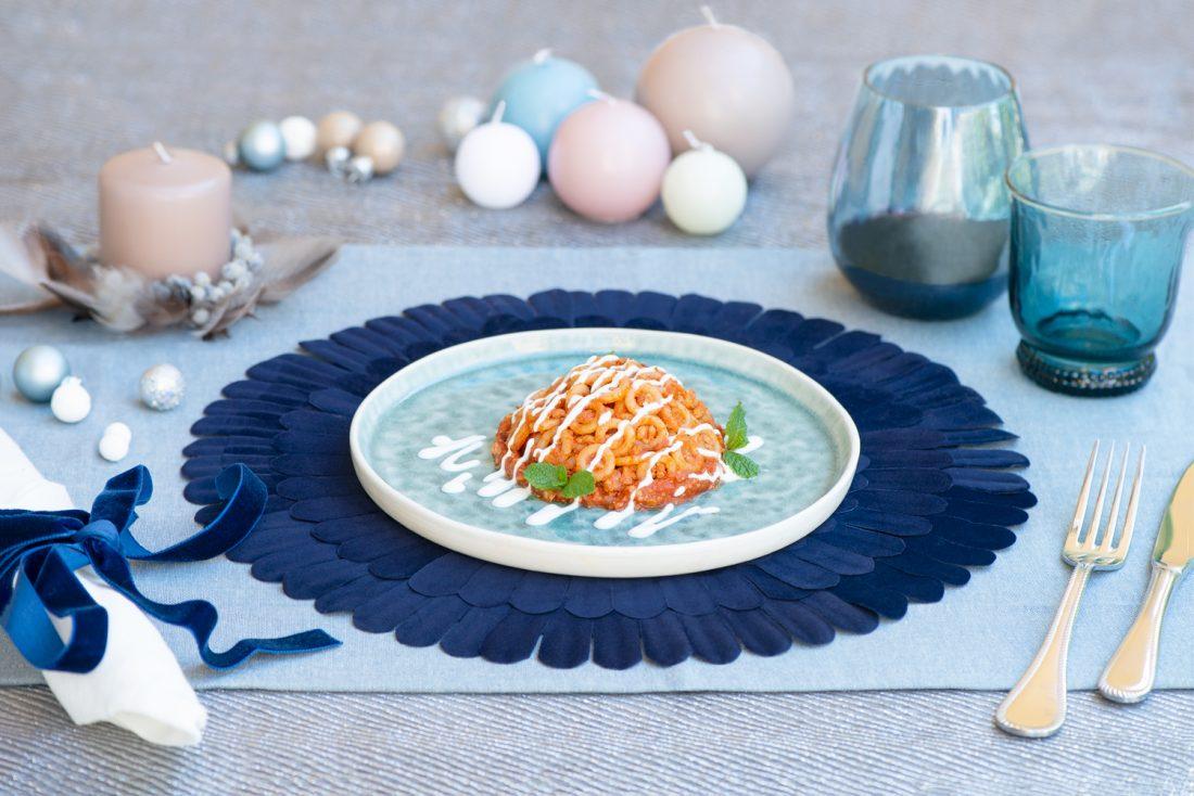 ricette di natale timballo di anelli marcello valentino