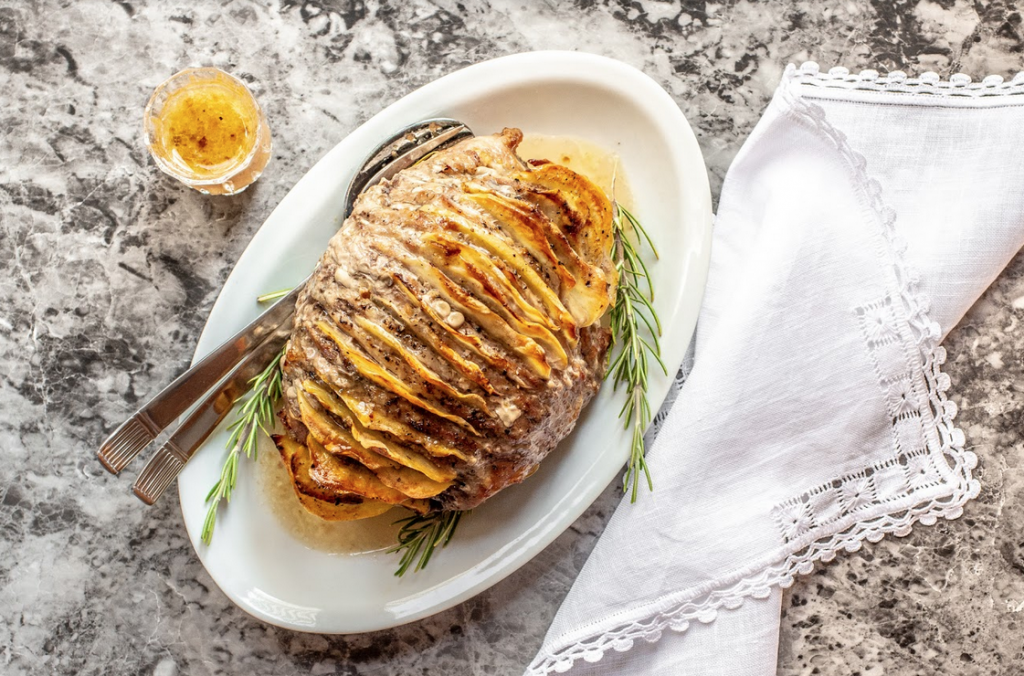 arrosto di vitello hasselback