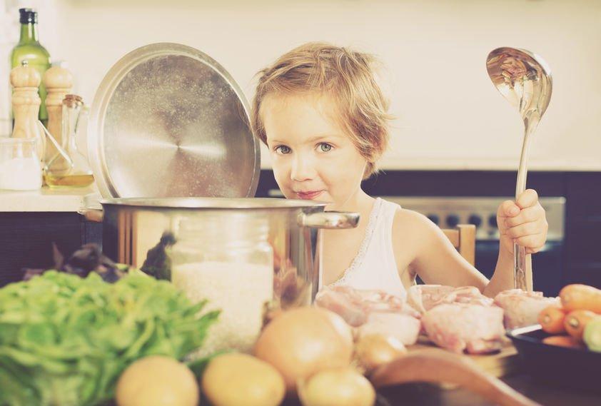 benefici carne di vitello bambini