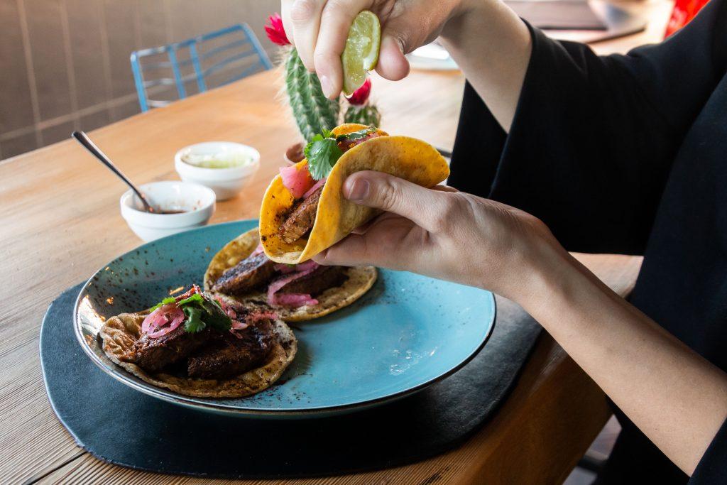 Tacos con carne  vitello_0035