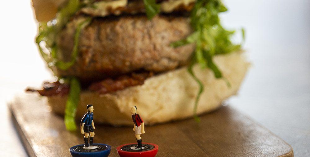 Hamburger di vitello sfizioso