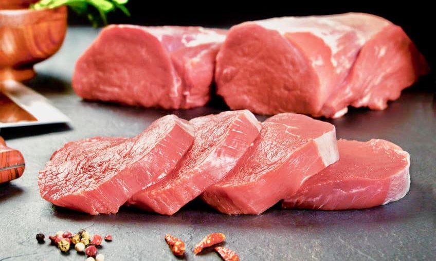 filetto e carne cruda