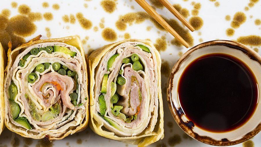 sushi di carpaccio di vitello