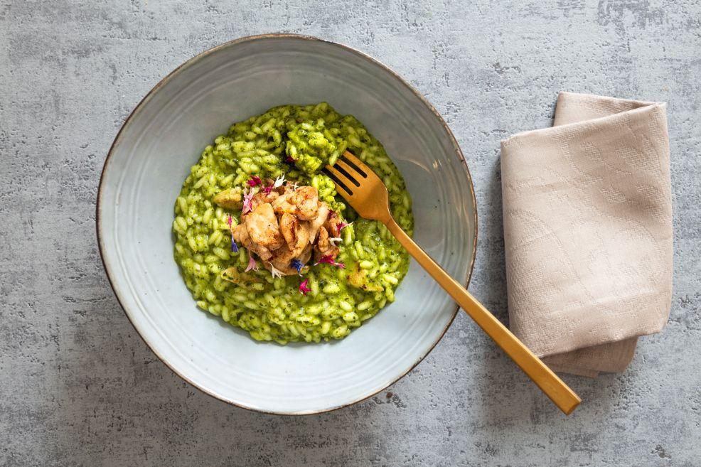 risotto-con-broccoli