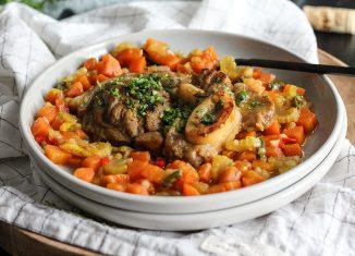 ossobuco di vitello ricetta con verdure